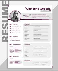 Best Modern Clean Resume Design Resume Cv Design Free Download The Best Creative Resume