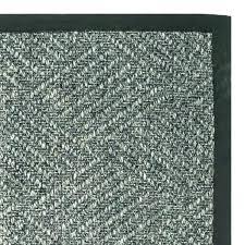 diamond sisal rug gray handmade natural fiber cotton border x 6 grey 8x10 woven sis