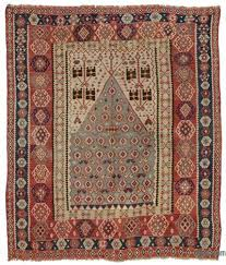 multicolor antique erzurum kilim rug