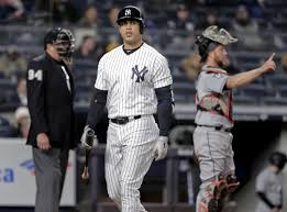 Image result for GIANCARLO STANTON YANKEES UNHAPPY
