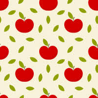 Apple Pattern Enchanting Seamless Autumn Apple Pattern Stock Vector FreeImages