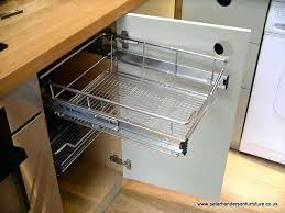 kitchen cabinet basket inserts luxury pull out for cabinets wicker baskets