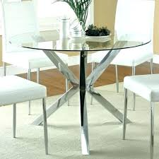 48 round glass table top inch