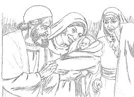 Mary And Gabriel Coloring Page - creativemove.me