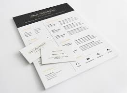 Resume Mockup Free Free Resume With Business Card Template PSD Download Download PSD 5