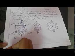 Theorem 5.8.13 the algorithm above correctly computes the chromatic number in a finite amount of time. How To Find Out The Chromatic Number Of A Graph Graph Color Discrete Math And Mathematics 3 Youtube