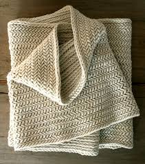 Free Knitting Patterns For Scarves Fascinating Herringbone Infinity Scarf Free Knitting Pattern