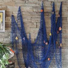 Seaside Decorative Accessories Home Decoration Nautical Decorative Fishing Net Seaside Beach 63