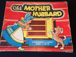 Old Fashioned Wooden Games Old Mother Hubbard 100 Rare board game Wooden game pieces 55