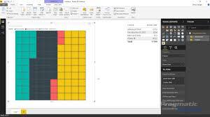Power Bi Custom Visuals Brick Chart By Maq Software