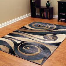 blue area rugs 6x9 sculpture abstract swirl blue area rug