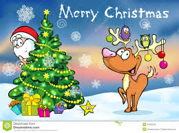 Christmas Card Images Free Merry Christmas Greeting Card Stock Vector Illustration Of Card
