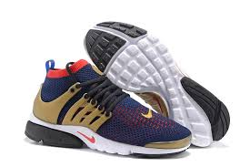 nike running shoes for men black and red. 2016 nike air presto flyknit ultra blue gold red mens running shoes 835738-803 for men black and