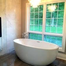 66 bathtub inch by inch luxury freestanding oval tub 66 x 32 bathtubs alcove