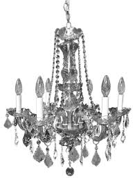 victorian design 6 light chrome crystal chandelier glass arm authentic quality traditional chandeliers