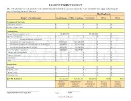 Project Estimate Template Excel Project Finance Template Excel