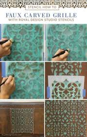 image stencils furniture painting. diy furniture makeover tutorial distressed stencils image painting