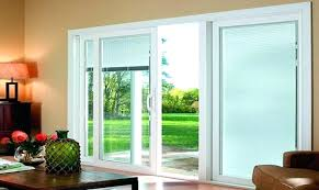 triple pane sliding glass door 3 panel exterior patio doors four three locks