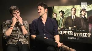 What's on TV: Matthew Lewis and Adam Rothenberg Talks Ripper Street -  YouTube