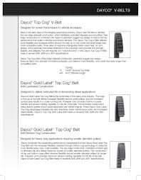 Products Guide Dayco Products Llc Pdf Free Download