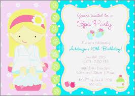 Diva Invitation Templates Fresh Spa Party Invite Template Luxury