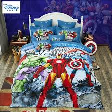 marvel avengers bedding set for kids comforter duvet covers twin size bedroom decor queen bed sheets cotton bedspread 3 comforters and duvet covers