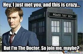 10Th Doctor by daggers1627 - Meme Center via Relatably.com