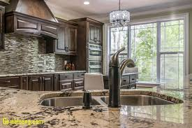 granite kitchen countertops awesome this kitchen features coast green granite countertops and classic