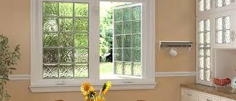 block window acrylic glass block windows and ornate glass windows