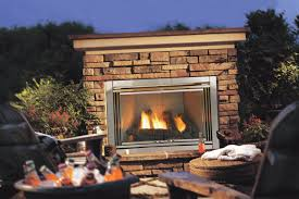 wood burner outdoor gas fireplace brick stone mantel stainless steel for amazing outdoor gas fireplace burner
