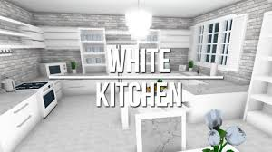 all white kitchen designs. ROBLOX | Welcome To Bloxburg: White Kitchen All Designs G