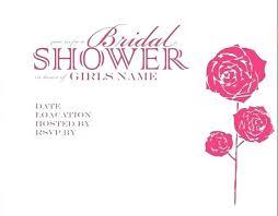 Bridal Shower Invitations Templates Bridal Shower Invitation