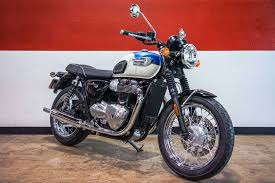 new 2017 triumph bonneville t100 motorcycles in brea ca