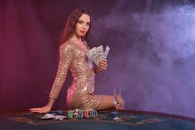 Casino Girl Stock Photos and Images - 123RF