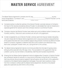 Engineering Service Agreement Template Courier Warranty Free ...