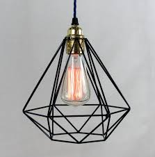 caged lighting. diamond cage pendant light caged lighting notonthehighstreetcom