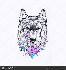 ᐈ татуировки волки эскизы картинки и фото волк эскиз тату скачать