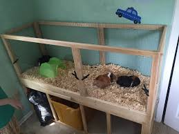 picture of build a guinea pig cage with easy cleaning projects with kids