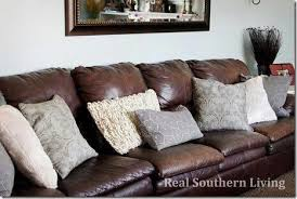 leather sofa decor brown leather couch