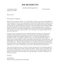 Image Name Guidance Counselor Cover Letter Sample From School