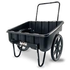 agri fab 5 cu ft poly yard cart