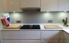 glass splashback colour match