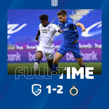 Full Time - Genk 1 - 2 Club Brugge - Belgium - First Division A Regular  Season, August 30, 2020