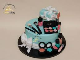 makeup birthday cake makeup cakes or birthday cake with cosmetics cake order and inspiration