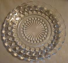 Clear Depression Glass Patterns