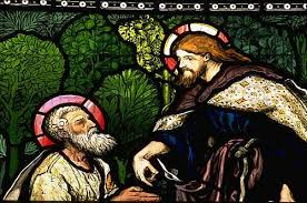 Image result for jesus and peter