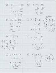 page 18 in your inb lesson 2 3 how do we solve two step equations 4 page 19 in your inb lesson 2 4 what is the difference between addition and