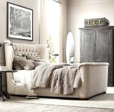 upholstered sleigh beds. Upholstered Beds Tufted Sleigh Bed For Fantastic Best Ideas On Grey .