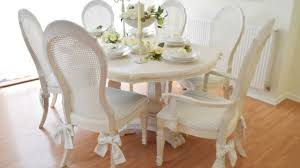 shabby chic dining room furniture. Shabby Chic Dining Room Furniture For Sale Shab Table And 4 Chairs French Country Style Grey In Photos I