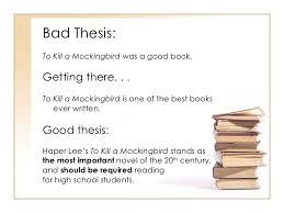 bad essay good bad essay